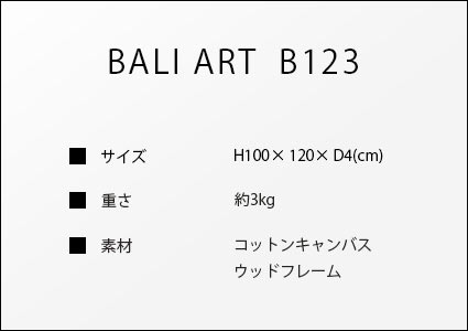 バリアートB123のサイズ詳細