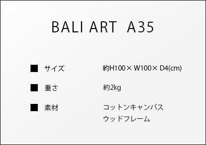 バリアートa35のサイズ詳細