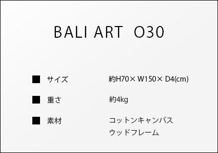 バリアートo30のサイズ詳細