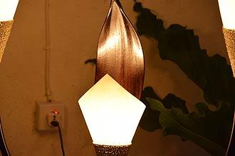 アジアン照明。ココナッツの間接照明