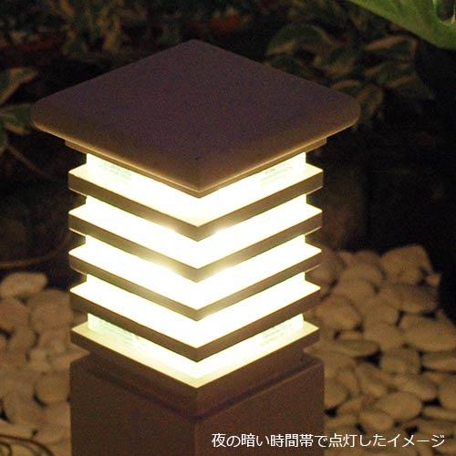 門灯・園庭灯。ライムストーンのガーデンライト。