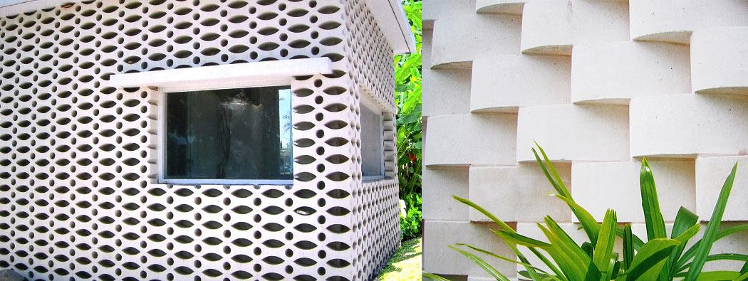 外講用の建築材料。塀や柵などの壁材としてやレンガ積み、屋内のインテリアや装飾としてなどに使える石製の建材